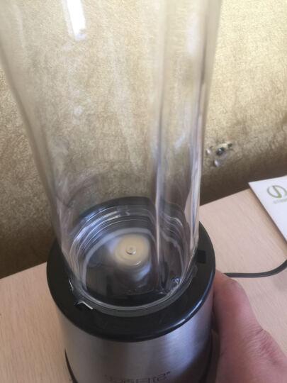 生活日记便携式榨汁机果汁机榨汁杯料理机学生全自动多功能果蔬家用迷你炸扎汁机 银色 晒单图