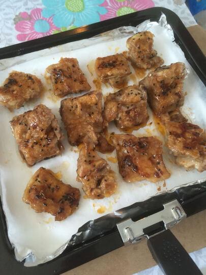 尚烤佳 吸油纸 烧烤纸 烤肉纸  烘焙烤箱吸油纸 煎盘硅油纸5米 晒单图