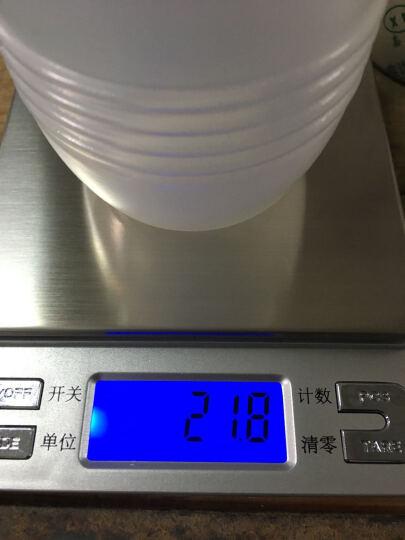 骏缘电子称 厨房秤 精准0.01g珠宝秤烘焙电子秤称重电子称0.1g克重克数秤克度秤天平秤 中文1公斤/0.1克/双托盘 晒单图