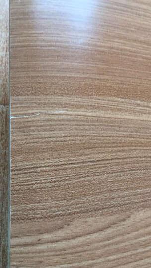 (林感)肯德基快餐桌椅柚木色 分体 水饺面馆桌椅牛肉汤花甲店小吃汉堡店桌椅 组合炸鸡店饭馆 60*60单桌 晒单图