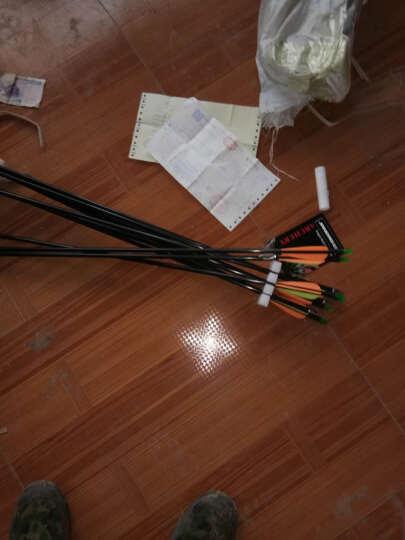 三利达 复合箭台专用玻纤箭狩猎反曲弓箭配件练习箭(追月系列猎弓、可调式直拉弓) 12支装 晒单图