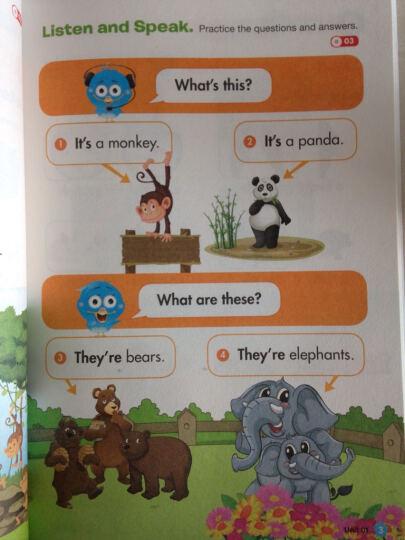 用美国幼儿园课本学英语 (STEP 3) 晒单图