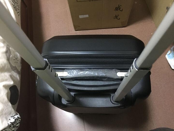 瑞士军刀威戈(Wenger)拉杆箱行李箱旅行箱20英寸ABS材质TSA海关锁黑色SAX881015109057 晒单图