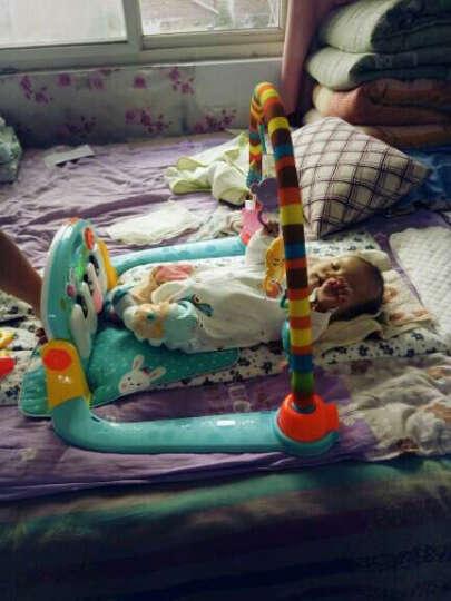 源乐堡婴儿玩具手摇铃新生儿宝宝牙胶 大号 95cm(充电)精灵之舞遥控版 蓝色 晒单图