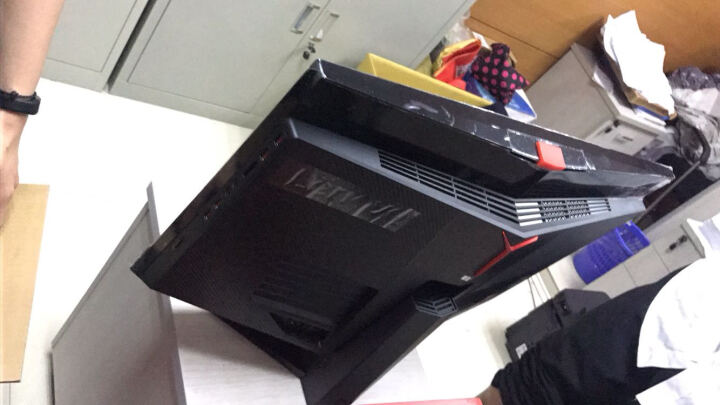 联想(Lenovo)AIO Y910游戏一体机台式电脑 27英寸( i5-6400 8G 1T+128G SSD RX460 4G独显 win10) 晒单图
