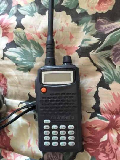 QUANSHENG 泉盛商用对讲机TG-K10AT  泉盛大金刚专业无线业余对讲机 锂电池标配+借电器+手咪 晒单图