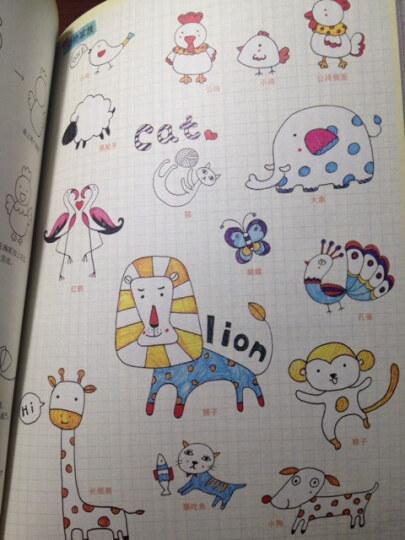 彩色钢珠笔的1000种可爱涂鸦 晒单图