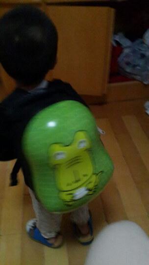 唯米 可爱卡通蛋壳硬壳 儿童书包 男童女童双肩背包包小学生幼儿园宝宝 绿色鳄鱼 13寸 晒单图