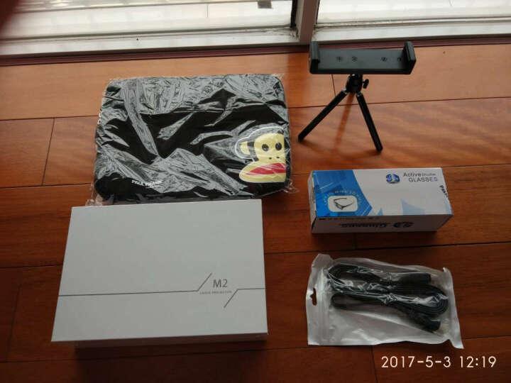 小明 (XMING)M1/M2激光微型投影机高清3D家用商务办公投影仪安卓WiFi影院 小明M2+2W毫安19V移动电源 晒单图