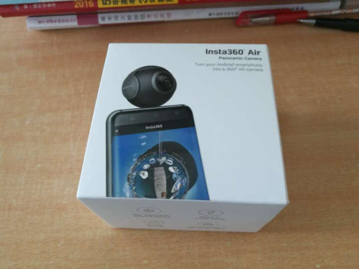 Insta360 Air全景相机 VR摄像头运动摄像机智能数码高清360直播自拍微博全景图 经典黑Micro-USB 晒单图