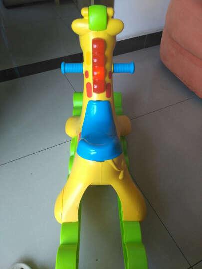费雪(Fisher Price)早教益智玩具 宝宝学步车多功能摇摇车 摇摇马 声光摇摇长颈鹿Y9155 晒单图