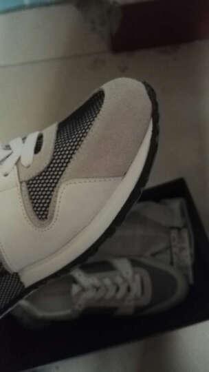 太平鸟男装 网面舒适跑鞋男士新品休闲鞋新款运动鞋B1ZD62106 黑色+白色 39 晒单图
