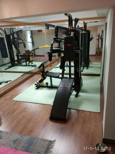 康强 综合训练器 多功能力量械 家用健身器材 三人站组合健身器材 四人站-铸铁80KG配重 晒单图