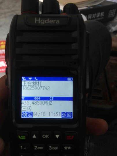 海歌达(Hgdera) TD-360全国对讲机天翼电信插卡双模手台民用5000公里户外自驾游物流车队 骑士版双模(公网+模拟)送耳机 晒单图