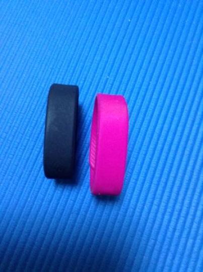 聆听智能运动手环手表学生男女老人成人计步器无需蓝牙无需APP可USB充电卡路里距离 T5粉红色 晒单图