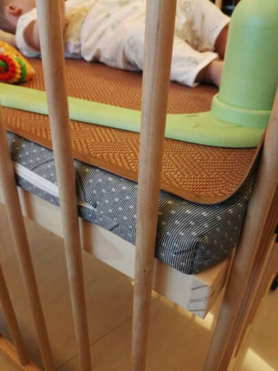FARORO婴儿床 实木宝宝床无油漆环保多功能可变沙发游戏围栏bb童床 大床 晒单图