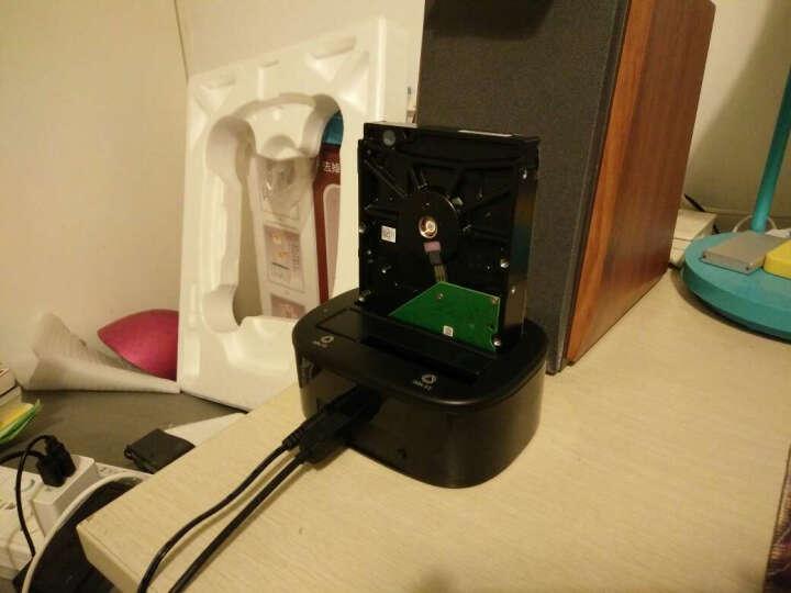 奥睿科(ORICO)硬盘底座USB3.0 2.5/3.5英寸移动硬盘盒子 SATA串口笔记本台式机外置硬盘座 双盘位6228US3 晒单图