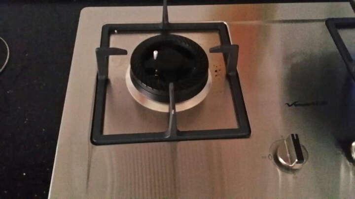 万和(Vanward) 燃气灶 天然气 灶具 嵌入式 台式 C5-B520ZW-12T 台嵌两用 天然气(12T) 晒单图