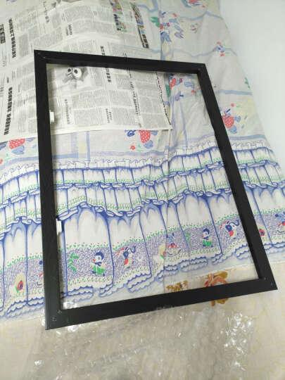 美平方 抽象动物客厅装饰画北欧风餐厅挂画现代简约卧室玄关壁画麋鹿三联可做电表箱配电箱 B款 60x80(经典黑框 厚度35mm) 晒单图