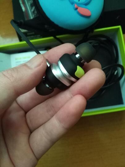 魔浪(morul) U5 plus 运动跑步蓝牙耳机入耳式防水双耳无线重低音立体声耳机 绿色 晒单图