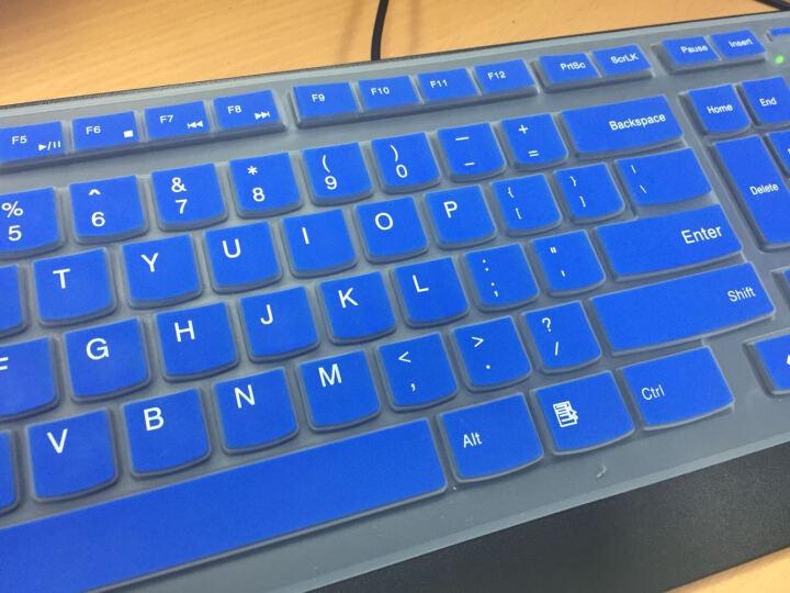 联想(LENOVO) 联想键盘膜 台式一体机KU1153 KB4721 K5819 半透明绿色 联想一体机C470 C560键盘保护膜 晒单图
