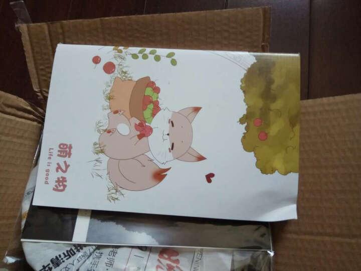三年二班韩国文具笔记本可爱创意日记本记事本a5本子办公用品单本随机 薰衣草Z 晒单图