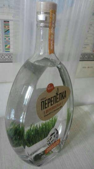 俄罗斯洋酒 原瓶进口烈酒 鹌鹑牌伏特加 500ML 洋酒套装 双支 晒单图