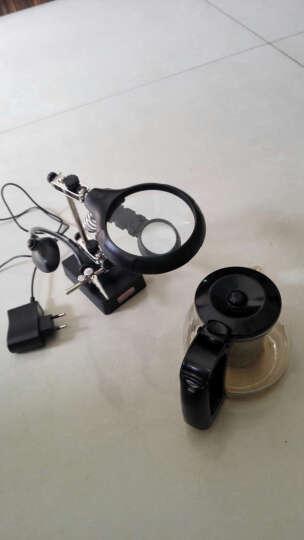 拜斯特(BAISITE) 台式放大镜带灯清焊接钟表手机主板维修台灯LED灯家电视电路板 晒单图