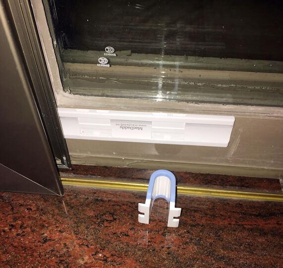 阳光瑞景 MacDaddy麦克老爹 推拉窗防坠妙锁窗户安全锁儿童锁-防盗锁移门限位器 薄款 晒单图