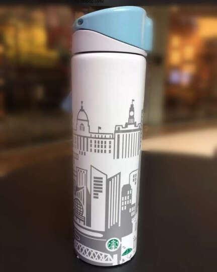 贝徕(Belland) 美国原装咖啡壶 手冲咖啡壶套装 滴滤式咖啡壶 星巴克咖啡杯具 星巴克上海城市浮雕不锈钢保温杯 晒单图