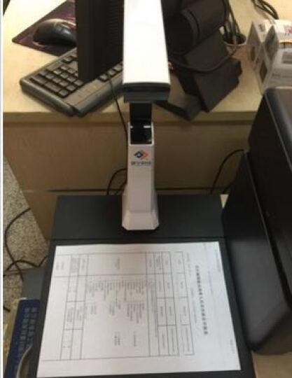 捷宇高拍仪1000万像素A10高清高速便携式快速A4文件证件扫描仪 晒单图