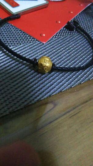 周大福 福星宝宝系列 幸福 定价足金黄金转运珠/吊坠R【多款可选】 R15411 平安宝宝 1480元 晒单图