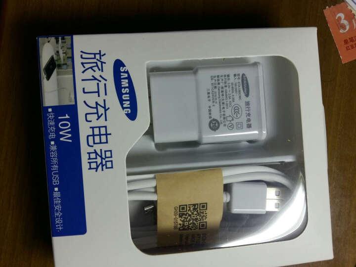 三星原装安卓手机充电器USB线 适用于三星i9300/S4/S3/NOTE2/N7100 单独原装数据线 1.0米 晒单图
