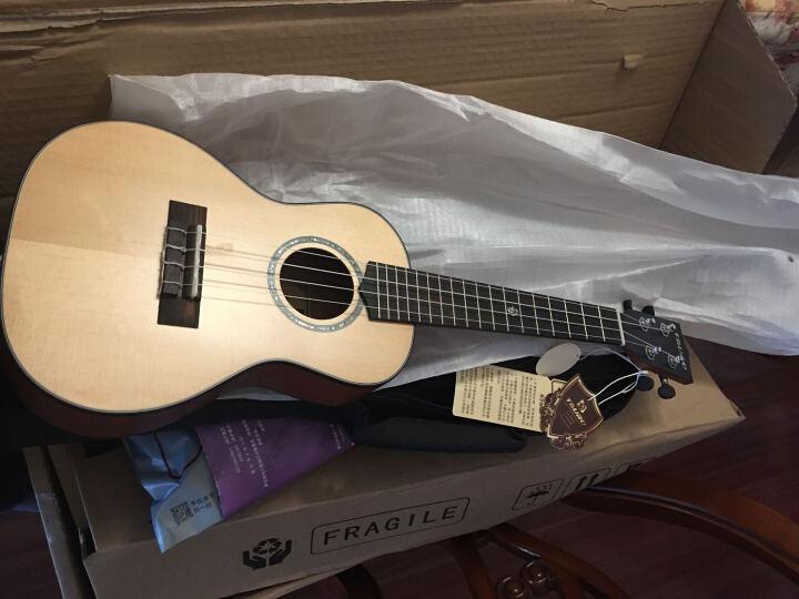塔罗(tauro) 【免费刻字】塔罗单板尤克里里23寸26寸ukulele小吉他初学者 26寸桃花芯木单板 晒单图