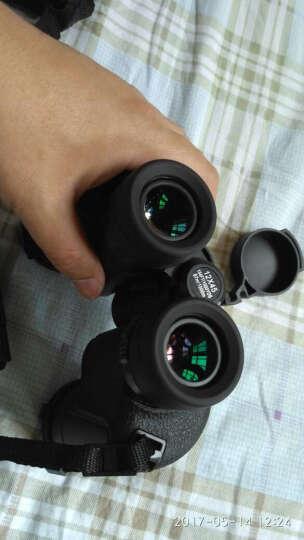 RONGDA 军标双筒望远镜 高清高倍微光夜视 户外旅游探险望眼镜 非红外1000 极光M7-20x50 晒单图