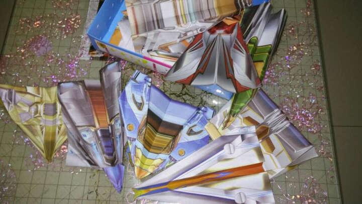 儿童彩色手工折纸礼盒装 陪孩子一起玩游戏 全世界孩子都爱玩的纸飞机 100张折纸及详细说明 晒单图