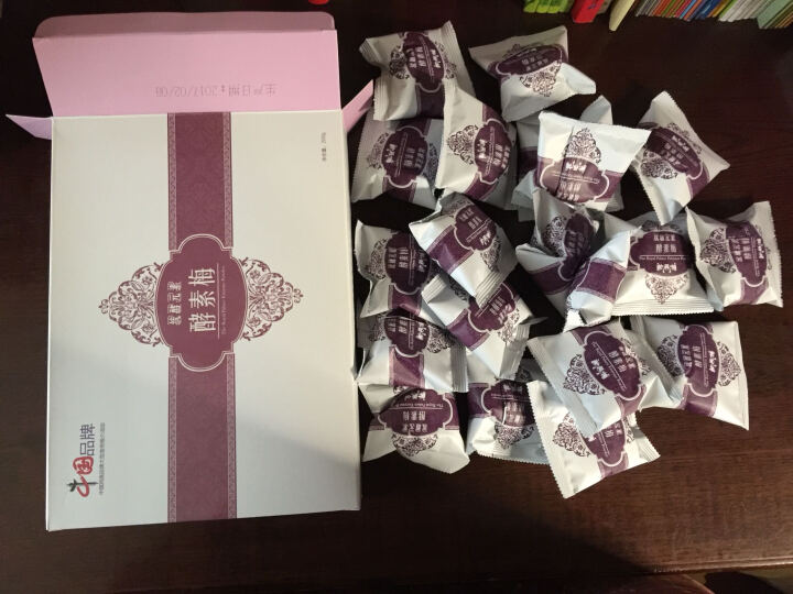 统酵元素 酵素元素 酵素梅 台湾品质 膳食纤维体梅 青梅中国民族品牌吃 新包装15粒 晒单图