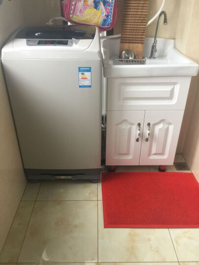 IT-CEO 可调节支架 滚筒洗衣机底座 通用洗衣机托架 冰箱冰柜底座 移动支架 45-68厘米 双减震支架 晒单图