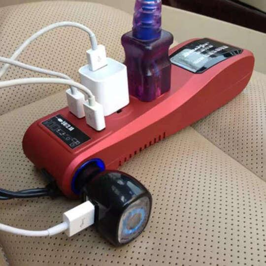 德雷克斯车载逆变器12v转220v汽车电源转换插座USB充电 200瓦雅黑-24V货车用 晒单图