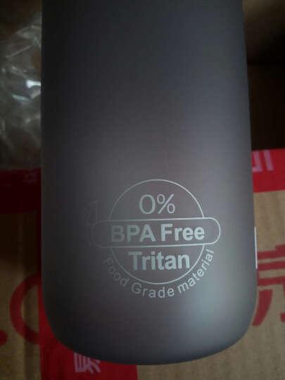 UZSPACE 优之水杯  大容量 情侣 学生 男女户外运动水壶 进口材料 安全环保 杯子 3032按盖草绿色1L 晒单图