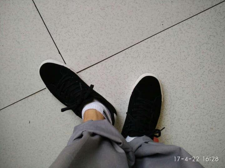 李宁官方男鞋板鞋休闲鞋运动鞋Pure男子经典真皮运动休闲鞋ALCK079 新基础黑/雪白 42 晒单图