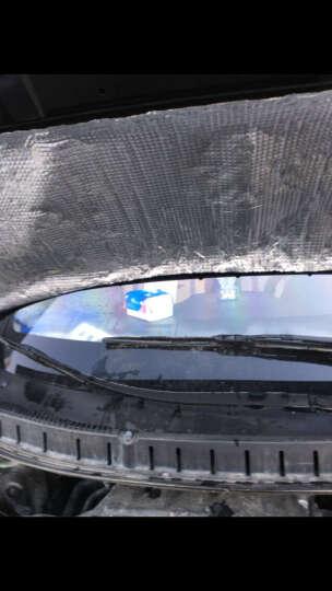 润华年  东南dx3改装 专用隔音棉 发动机散热板 DX3机盖隔音棉(铝膜款) 晒单图
