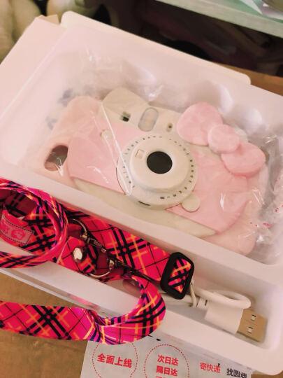 韦兹 自拍照补光灯苹果7/6s立体相机iPhone7Plus手机壳硅胶全包保护套日韩潮外壳 i6p/6ps 红色kt相机壳 晒单图