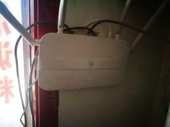 华为(HUAWEI) A1畅享版 无线路由器  智能WIFI信号放大器 家用电力猫穿墙王 晒单图