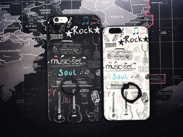 三壳演义 苹果6s手机壳防摔硅胶全包保护套 适用于苹果六iPhone6/6s plus 5.5英寸 收音机 晒单图