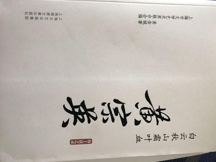 白云秋山霜叶血·海上谈艺录:黄宗英 晒单图