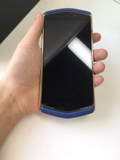 8848 钛金手机 M3巅峰版鳄鱼皮 全网通4G 128G 双卡双待 春夏版薄暮蓝 鳄鱼皮 晒单图