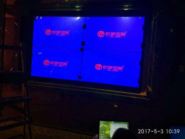 欧罗宝视(OLBS) 55英寸液晶拼接屏超窄边5.3/3.5/1.8mm会议安防监控拼接 55英寸5.3mm(京东方) 晒单图