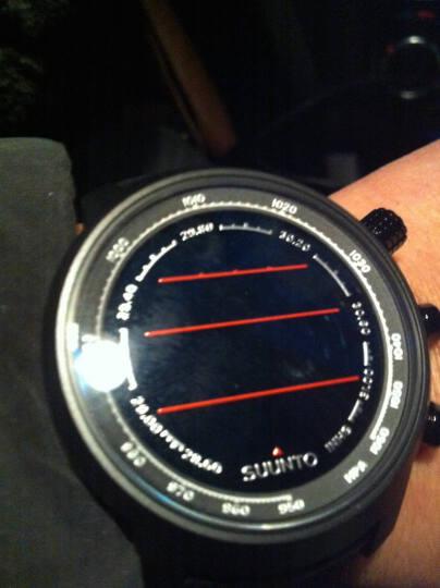 颂拓(SUUNTO)手表 ELEMENTUM 元素山雄户外运动石英男表琥珀黄SS019172000 晒单图