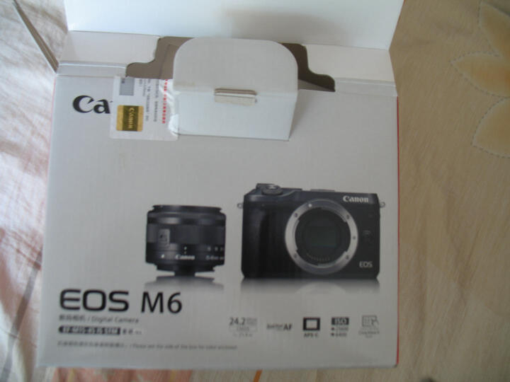 佳能(Canon)EOS M6微单相机 微型可换镜数码相机 EF-M 15-45mm镜头套机  银色 32G高性价比套餐 晒单图